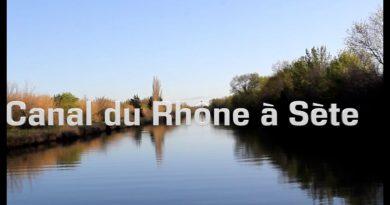 canal du Rhône à Séte