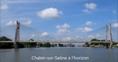 Pont de Bourgogne à Chalon-sur-Saône