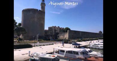 Remontée du Rhône depuis Aigues-Mortes