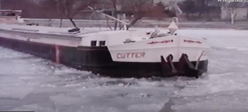 Canaux de l'Est gelés en février 1991